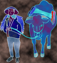 「牛の目地蔵」挿絵1