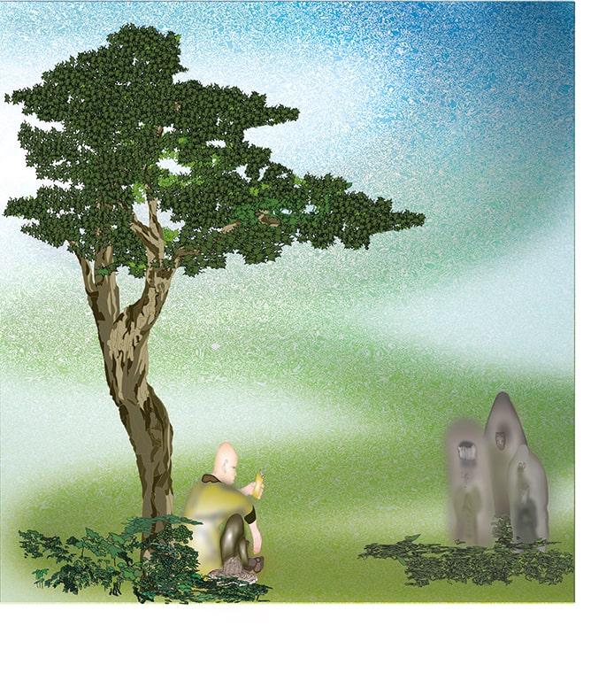 『路傍の仏』